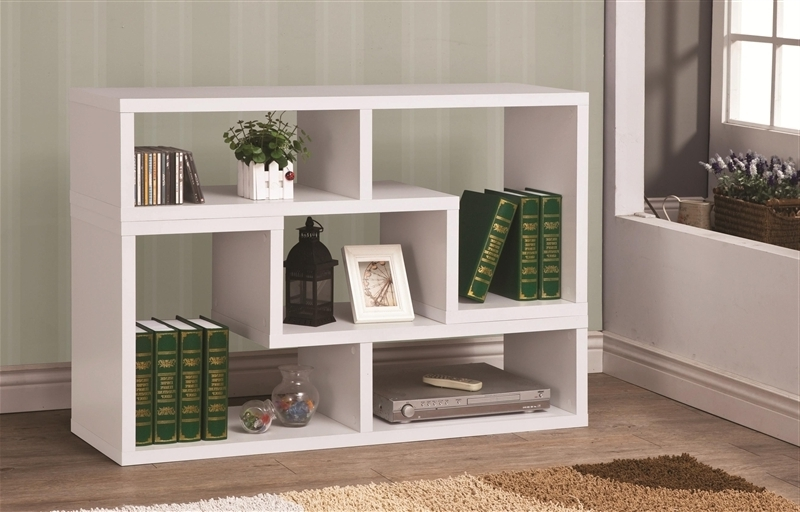 Famous Coaster Bookcases In Design It You Way White Bookcase Tv Standcoaster – 800330 (Gallery 7 of 15)