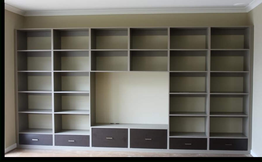 Famous Custom Made Shelving Units Within Custom Made Wall Unit With 6 Drawers And Space For Tv Tv Wall Unit (View 6 of 15)