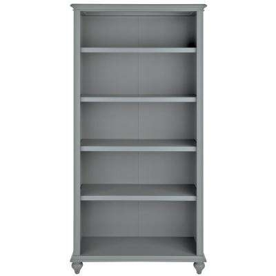 Famous Gray – Bookcases – Home Office Furniture – The Home Depot Intended For Grey Bookcases (View 9 of 15)