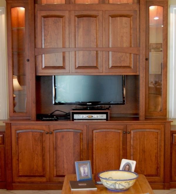Famous Hidden Tv Units Throughout Hidden Tv Display Cabinet Dutch Haus Custom Furniture Sarasota Tv (View 4 of 15)