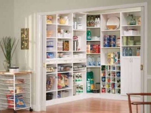Famous Home Shelving Systems Regarding Closetcraft Custom Pantry Storage Systems Closetcraft Custom In (View 13 of 15)