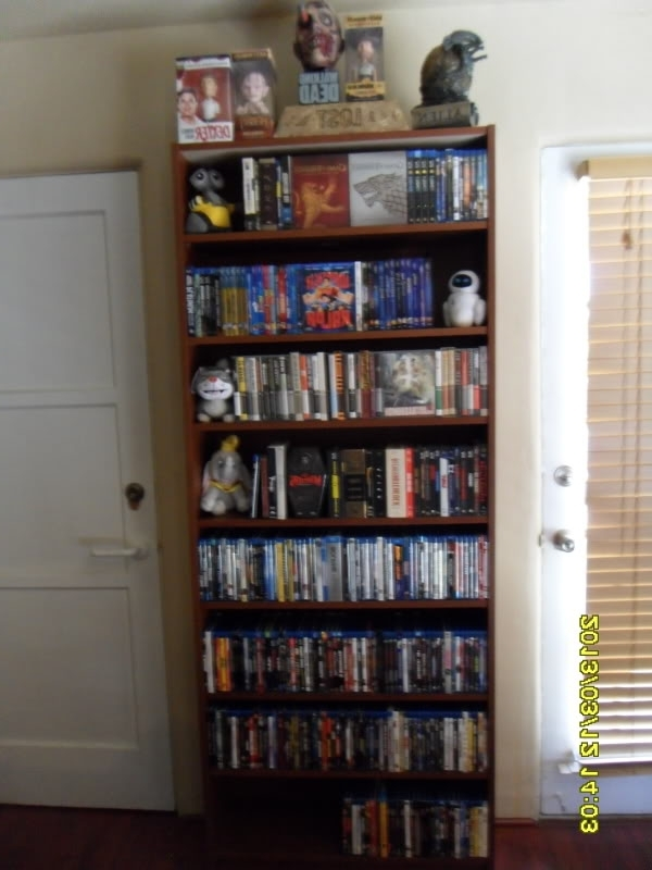 Famous Ikea Billy Bookshelf? – Blu Ray Forum Throughout Dvd Bookcases (View 12 of 15)