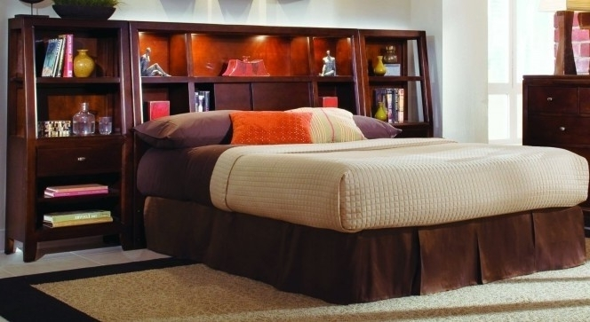 Famous King Size Bookcase Headboard – Foter Regarding Bookcases Headboard King (View 7 of 15)