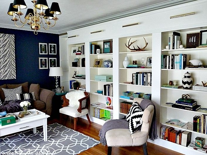 Famous Library Wall Bookshelves Pertaining To Best 25+ Library Wall Ideas On Pinterest (View 3 of 15)