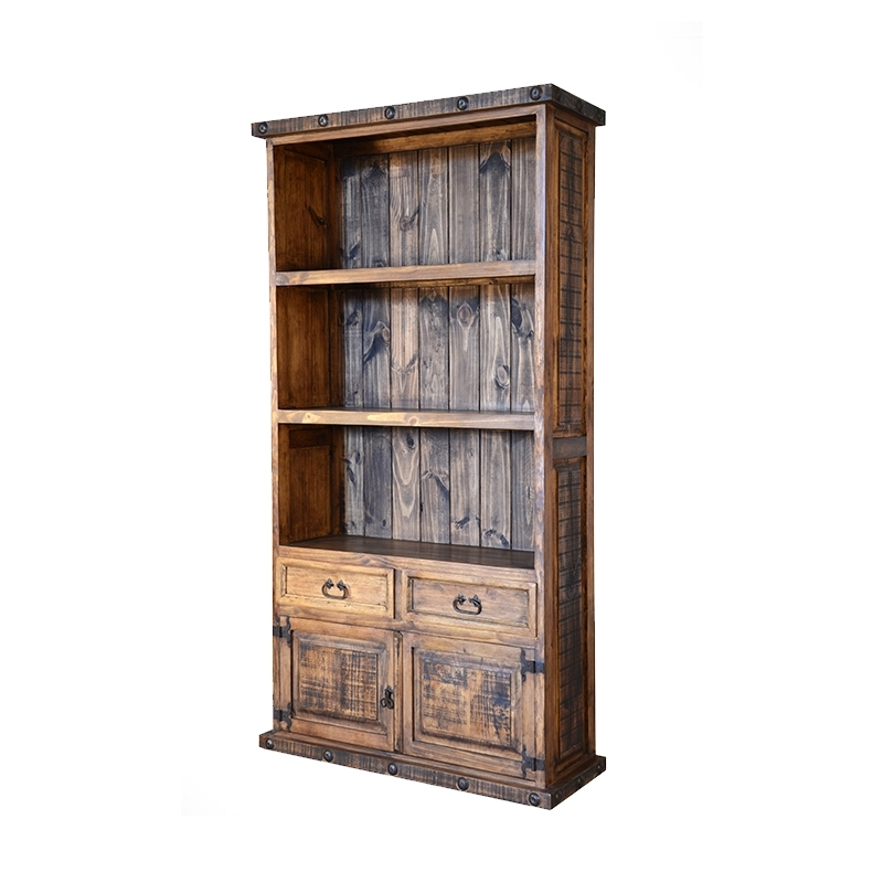 Famous Rustic Bookcases Within Bookcases — The Rustic Mile (View 2 of 15)