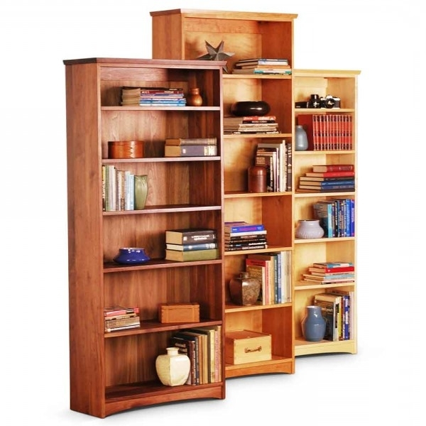Famous Standard Bookcases – Scott Jordan Furniture Regarding Bookcases (View 10 of 15)