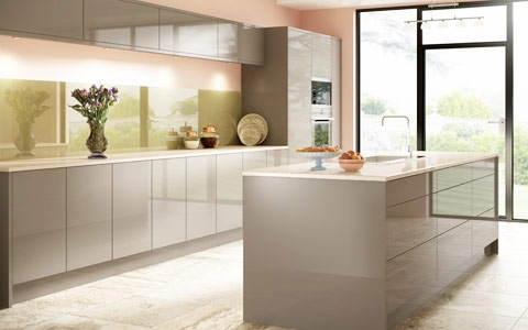 Famous Tremendeous High Gloss Kitchen Doors Made To Measure At Trade Regarding Made To Measure Cabinets (View 12 of 15)