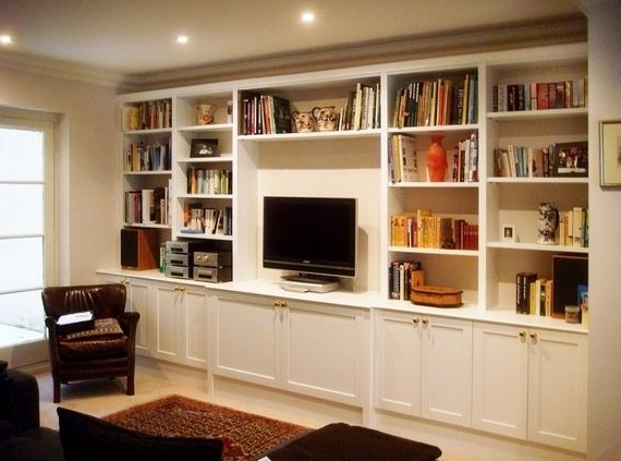 Famous Tv Cabinet And Bookcases With Made To Measure Bookcases For Lounges – Google Search (View 5 of 15)