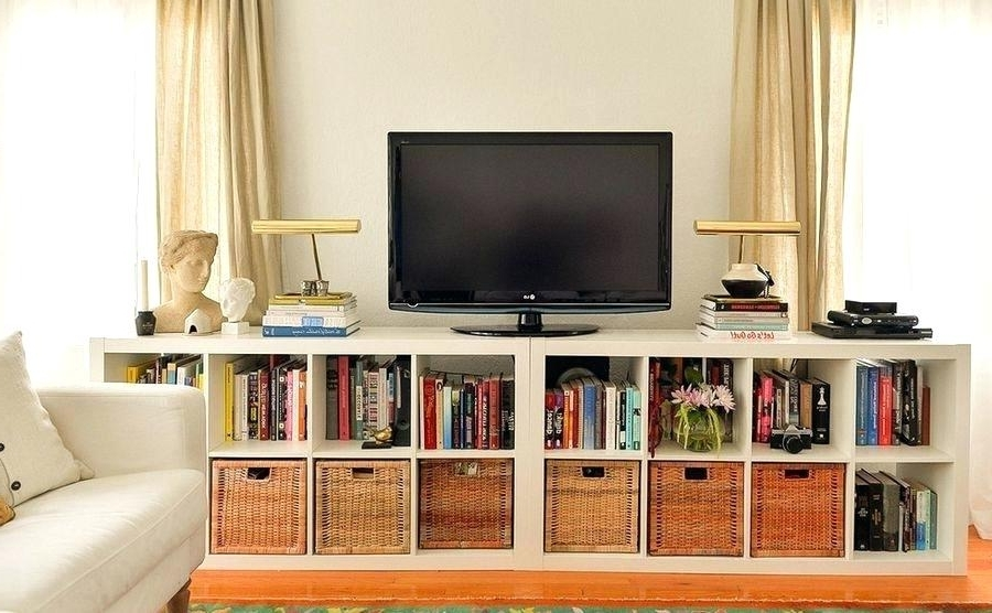 Famous Tv Unit With Bookcases Regarding Bookshelf Tv Stand Combo Wall Units Image Of Tv Stand Bookshelf (View 3 of 15)