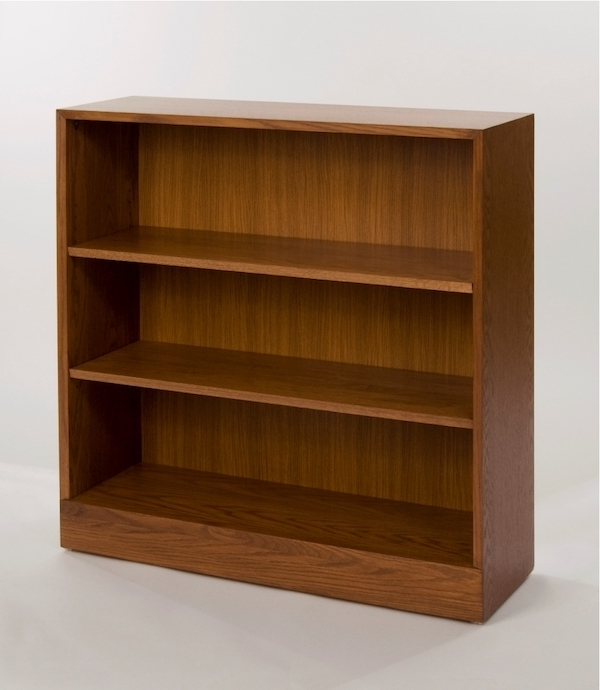 Famous Wooden Bookcases Regarding Adjustable 2 Shelf Wooden Bookcase (View 3 of 15)