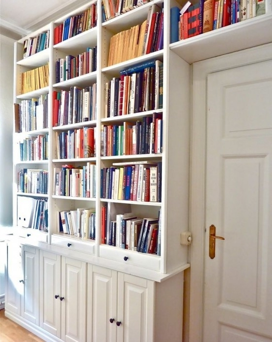 Fashionable 37 Awesome Ikea Billy Bookcases Ideas For Your Home – Digsdigs Within Home Library Shelving System (Gallery 15 of 15)
