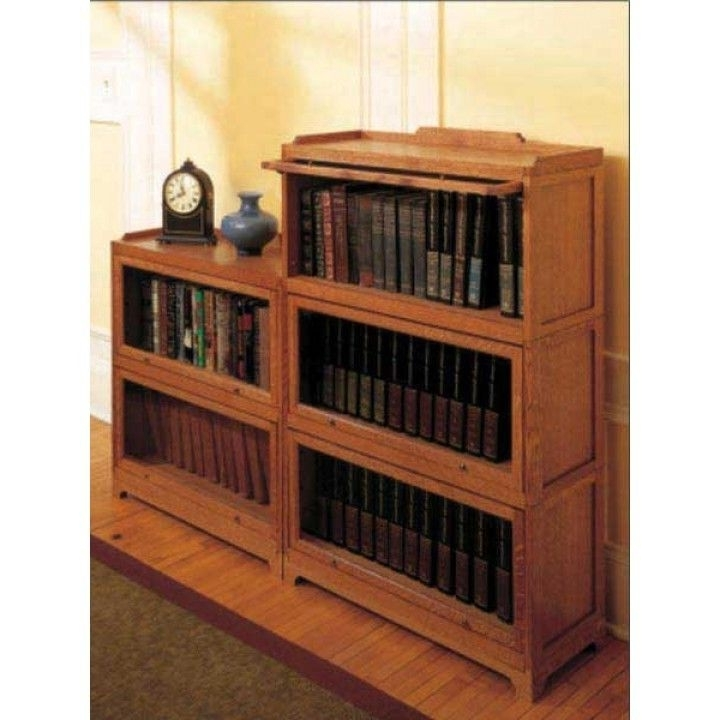 Fashionable Barrister Bookcases In Woodworker's Journal Modular Barrister's Bookcase Plan (View 12 of 15)