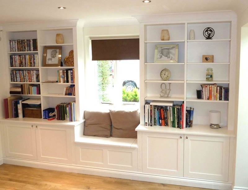 Fashionable Bespoke Shelves With Regard To Fitted Cupboards – Shelving Solutions Bespoke Cupboards (View 10 of 15)