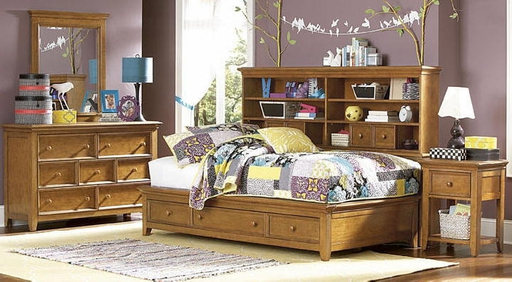 Fashionable Bookcases Ideas: Jaidyn Full Bookcase Bed Ashley Furniture Inside Bookcases Bed (View 10 of 15)