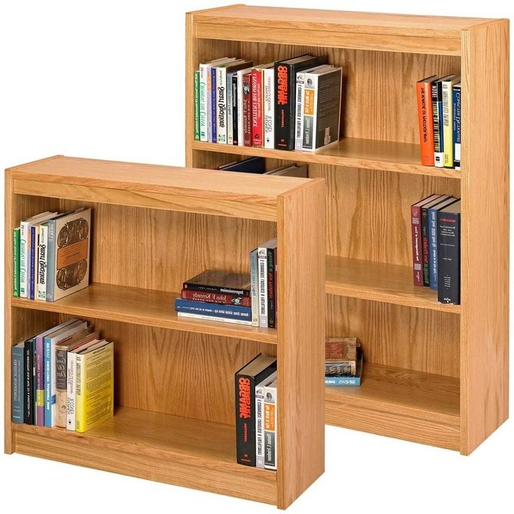 Fashionable Fresh Ideas Small Book Shelves Stunning Decoration Best 25 Solid In Oak Bookshelves (View 5 of 15)