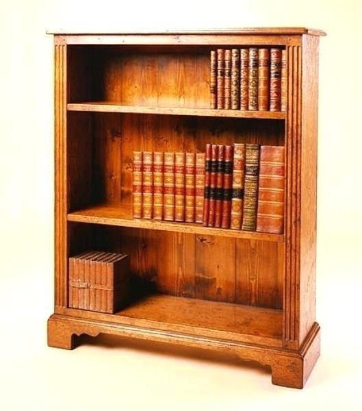 Fashionable Handmade Bookcases Within Oak Book Shelves Large Oak Bookcase Handmade Small And Large Oak (View 6 of 15)