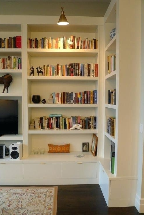 Fashionable Made Bookcases Within Custom Bookcase Library Cabinetry Custom Bookcase Built In (View 3 of 15)