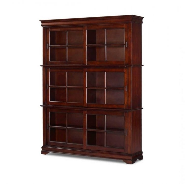 Fashionable Sears Bookcases Within Shelf Wood Bookcase Cinnamon Cherry Finish Sears Outlet Bookshelf (View 5 of 15)