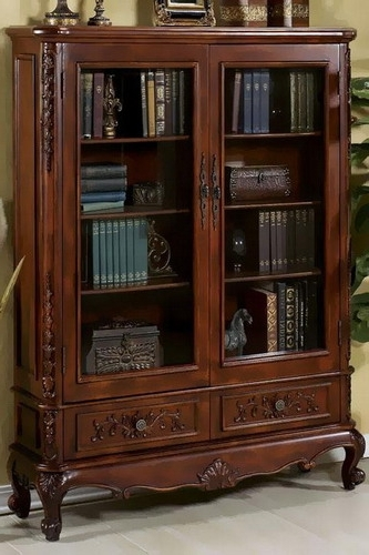 Fashionable Simple And Easy Guides To Help You Choosing Glass Door Bookcases Regarding Glass Door Bookcases (View 4 of 15)