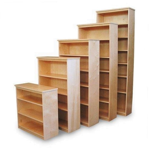 Fashionable Unfinished Bookcases With Unfinished Bookcases – Unfinished Oak Bookcases (View 4 of 15)