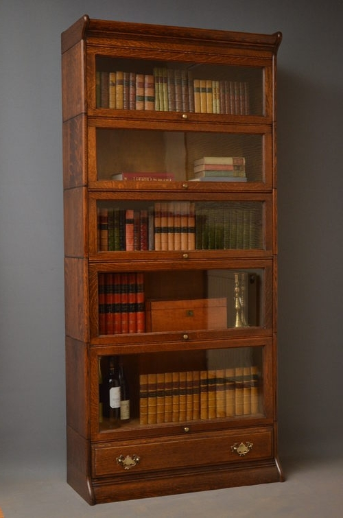 Fashionable Vintage Bookcase Antique Ideas Photograph (View 2 of 15)