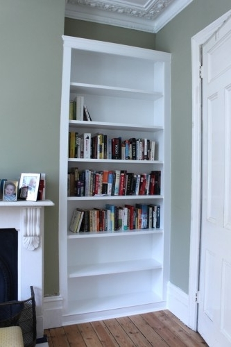 Favorite Alcove Bookcases Regarding Fitted Alcove Cupboards And Bookshelves, Bespoke Cabinets (View 6 of 15)