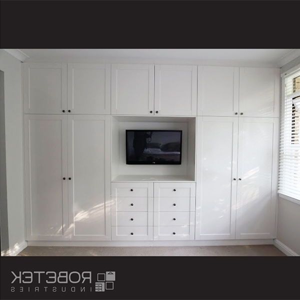 Favorite Built In Wardrobes With Tv Space Throughout Built In Wardrobes With Tv Designing Home 30 Ideas Of Built In (View 12 of 15)