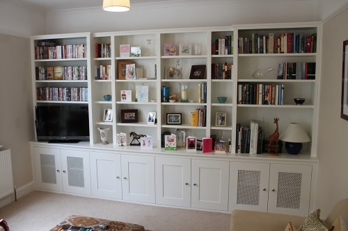 Favorite Fitted Alcove Cupboards And Bookshelves, Bespoke Cabinets With Regard To Fitted Bookshelves (View 13 of 15)