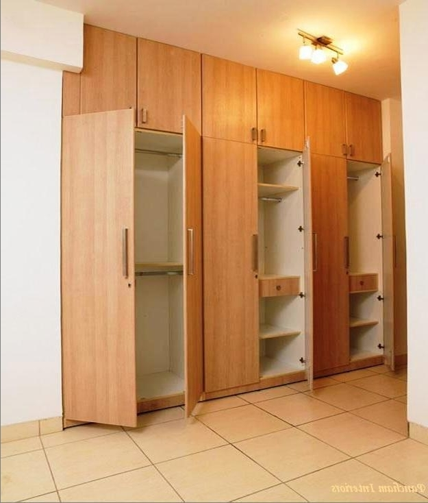 Favorite Fitted Wardrobes Hpd311 – Fitted Wardrobes – Al Habib Panel Doors Within Wall Wardrobes (View 1 of 15)