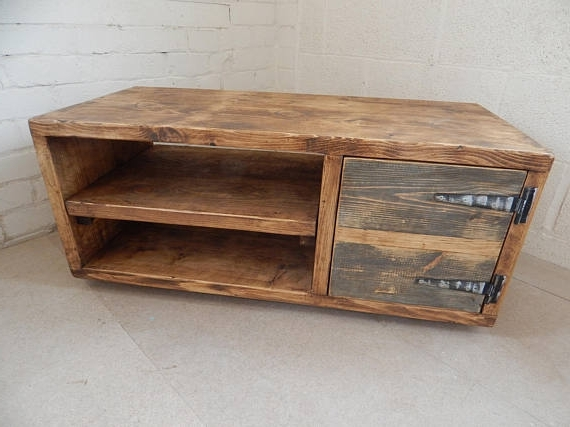 Favorite Handmade Tv Unit With Regard To Tv Media Unit Tv Stand Tv Unit Industrial Rustic Urban Custom (View 4 of 15)