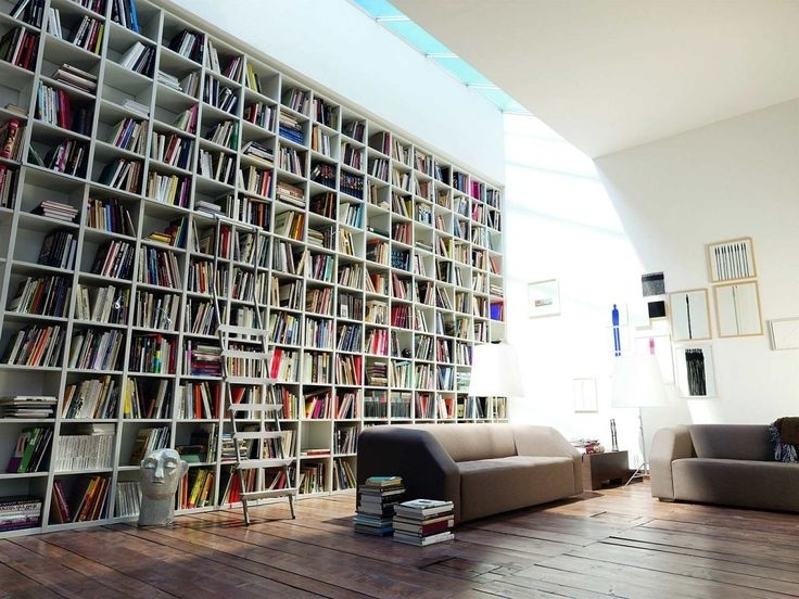 Favorite Huge Bookshelves Within Wall Units (View 2 of 15)