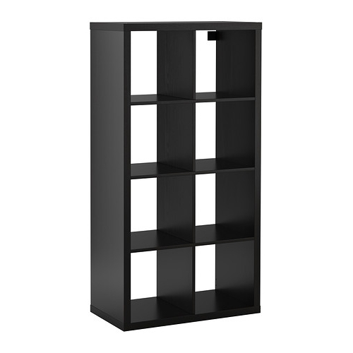 Favorite Ikea Cube Bookcases Within Kallax Shelf Unit – Black Brown – Ikea (View 7 of 15)