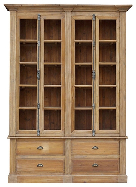 Favorite Large Solid Wood Bookcases With Regard To Astounding Large Black Bookcase Wood With Doors Corner Of (View 9 of 15)