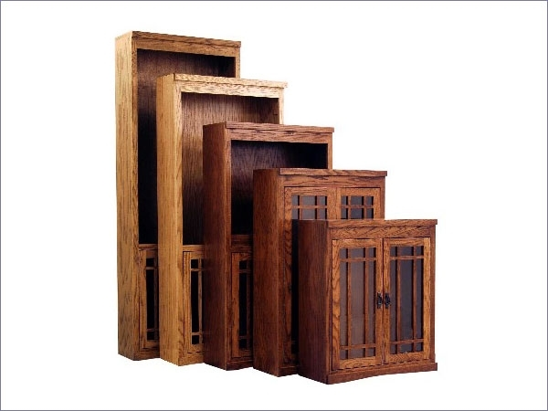 Favorite Mission Style Bookcases Pertaining To Seattle Mission Traditional Bookcases Finished And Unfinished (View 8 of 15)