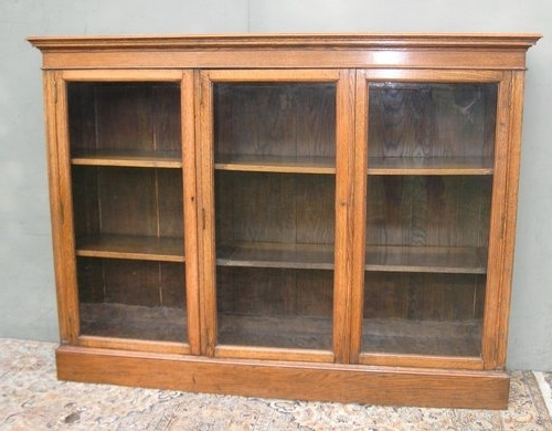 Favorite Oak Glazed Bookcases With Uk Type Gallery 13 Of 15