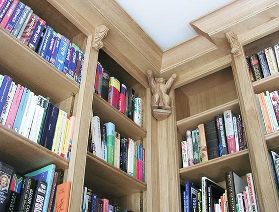 Favorite Oak Library Bookcases Pertaining To Libraries & Bookcases (View 3 of 15)