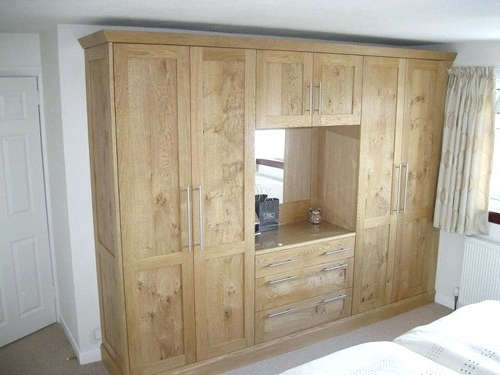 Favorite Solid Wood Built In Wardrobes Regarding Beautiful Solid Wood Built In Wardrobes – Bedroom Armoire Wardrobe (View 5 of 15)