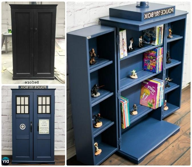 Favorite Tardis Bookcases With Tardis Furniture – Home Design Ideas And Pictures (View 3 of 15)
