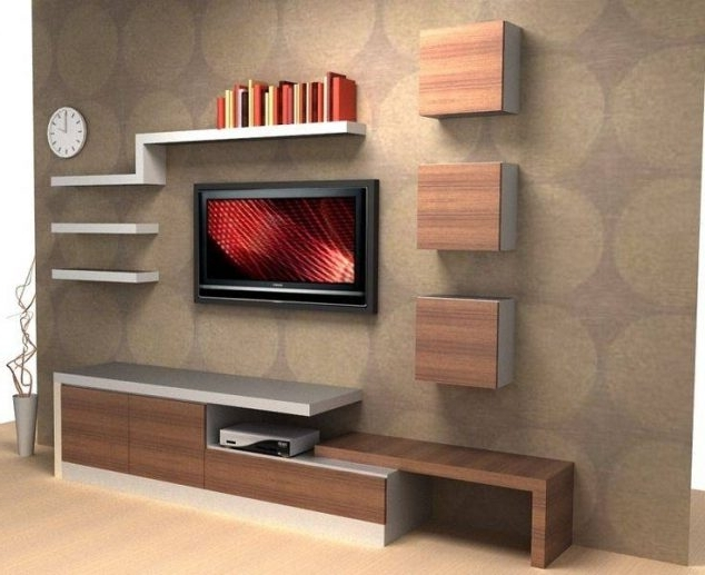 Favorite Tv Wall Unit Within 15 Serenely Tv Wall Unit Decoration You Need To Check (View 9 of 15)
