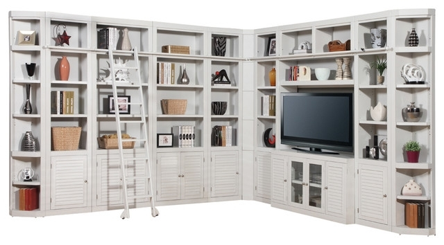 Favorite Wall Library Bookcases For Parker House – Boca 11 Piece Corner Library Bookcase Wall Unit (View 5 of 15)