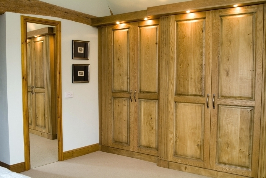 Favorite Wardrobes ~ Solid Wood Built In Wardrobes Solid Wood Fitted Regarding Solid Wood Fitted Wardrobes (View 7 of 15)