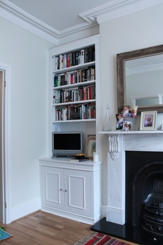 Fitted Alcove Cupboards And Bookshelves, Bespoke Cabinets Pertaining To Most Up To Date Fitted Shelves And Cupboards (View 7 of 15)