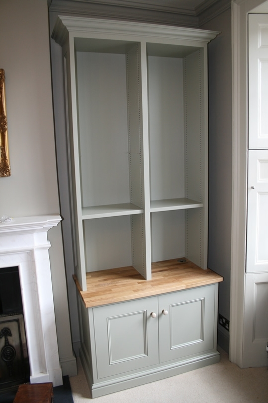 Fitted Alcove Units Bespoke Carpentry – Walton, Weybridge With Regard To 2018 Bespoke Cupboards (View 11 of 15)