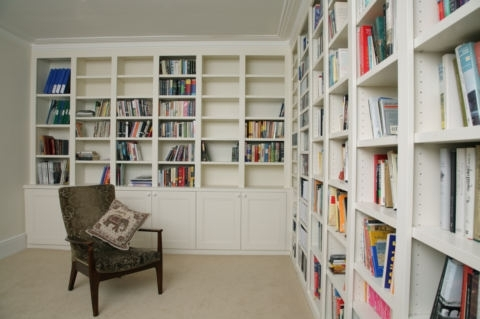 Fitted Bookcases Regarding Fashionable Fitted Bookcases And Fitted Bookshelves – Deriba, London (View 6 of 15)