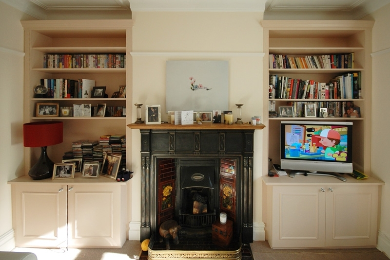 Fitted Bookcases Throughout Popular Bookcases And Shelving – Bespoke Fitted Furniture For London (View 9 of 15)