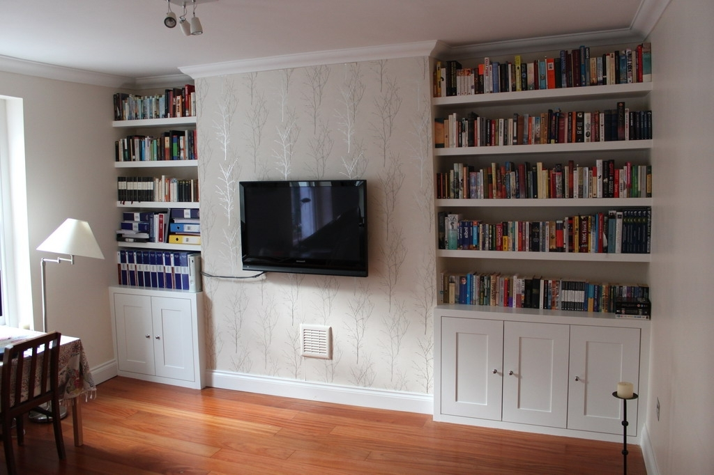 Fitted Bookshelves With Favorite Hmmm (View 3 of 15)