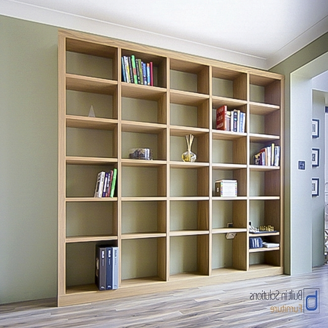 Fitted Bookshelves Within Most Recently Released Built In Bookcases For Your Book Collection (View 9 of 15)