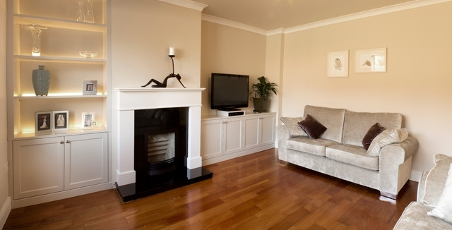 Fitted Cabinets Living Room Pertaining To Most Recent Sitting Room Units With Built In Led Lights (View 8 of 15)