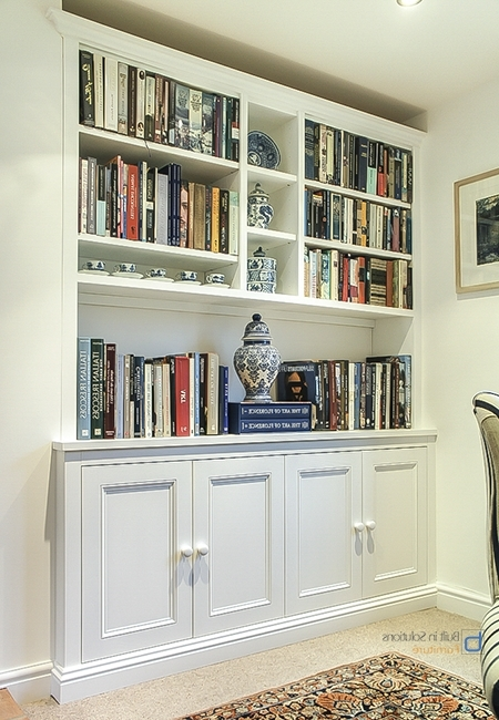 Fitted Cabinets Within Widely Used Gorgeous Built In Cupboards In Your Living Room (View 9 of 15)