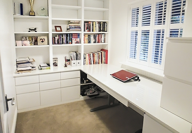 Fitted Home Study Furniture Inside Most Current Fitted Home Office Furniture (View 7 of 15)